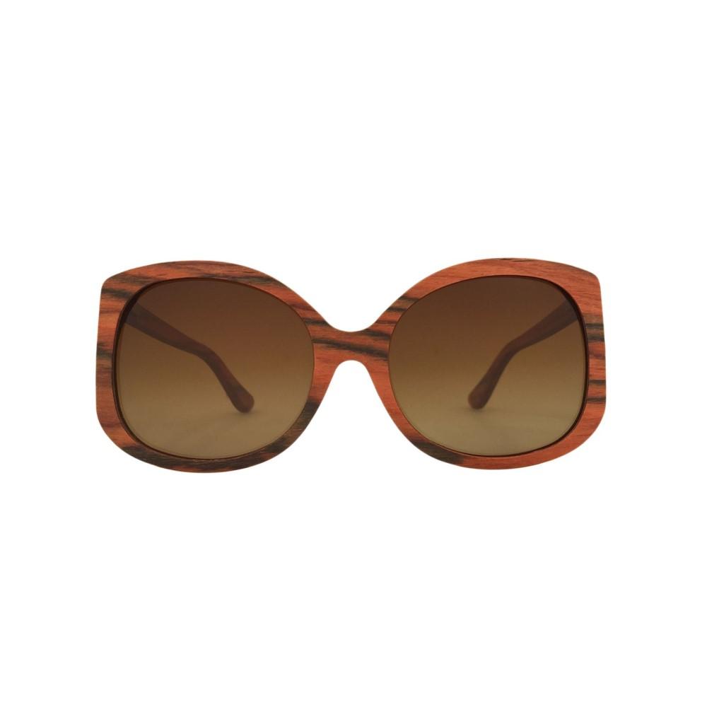 ラヴァンテ メンズ メガネ・サングラス【Rosewood Scarlett Rectangle Sunglasses】frame colour: brown gradient