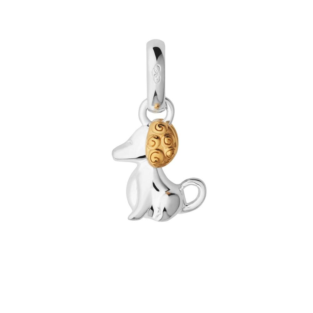 リンクス オブ ロンドン レディース ジュエリー・アクセサリー【Chinese Zodiac Dog Charm】silver