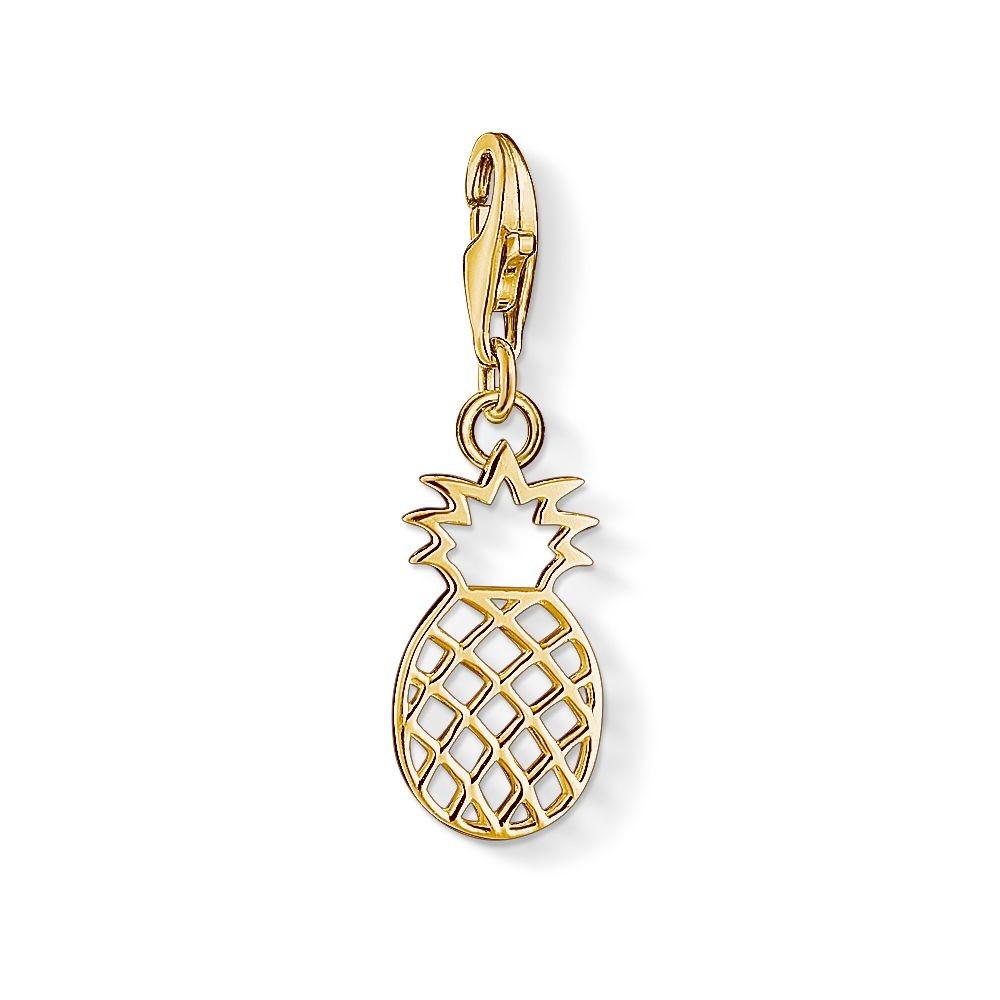 トーマスサボ レディース ジュエリー・アクセサリー【Charm Club Gold Pineapple Charm】metallic