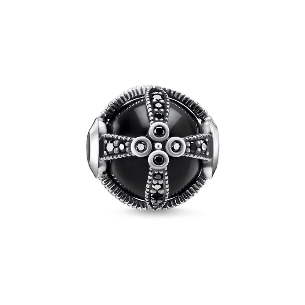 トーマスサボ レディース ジュエリー・アクセサリー【Royalty Black Karma Bead】black