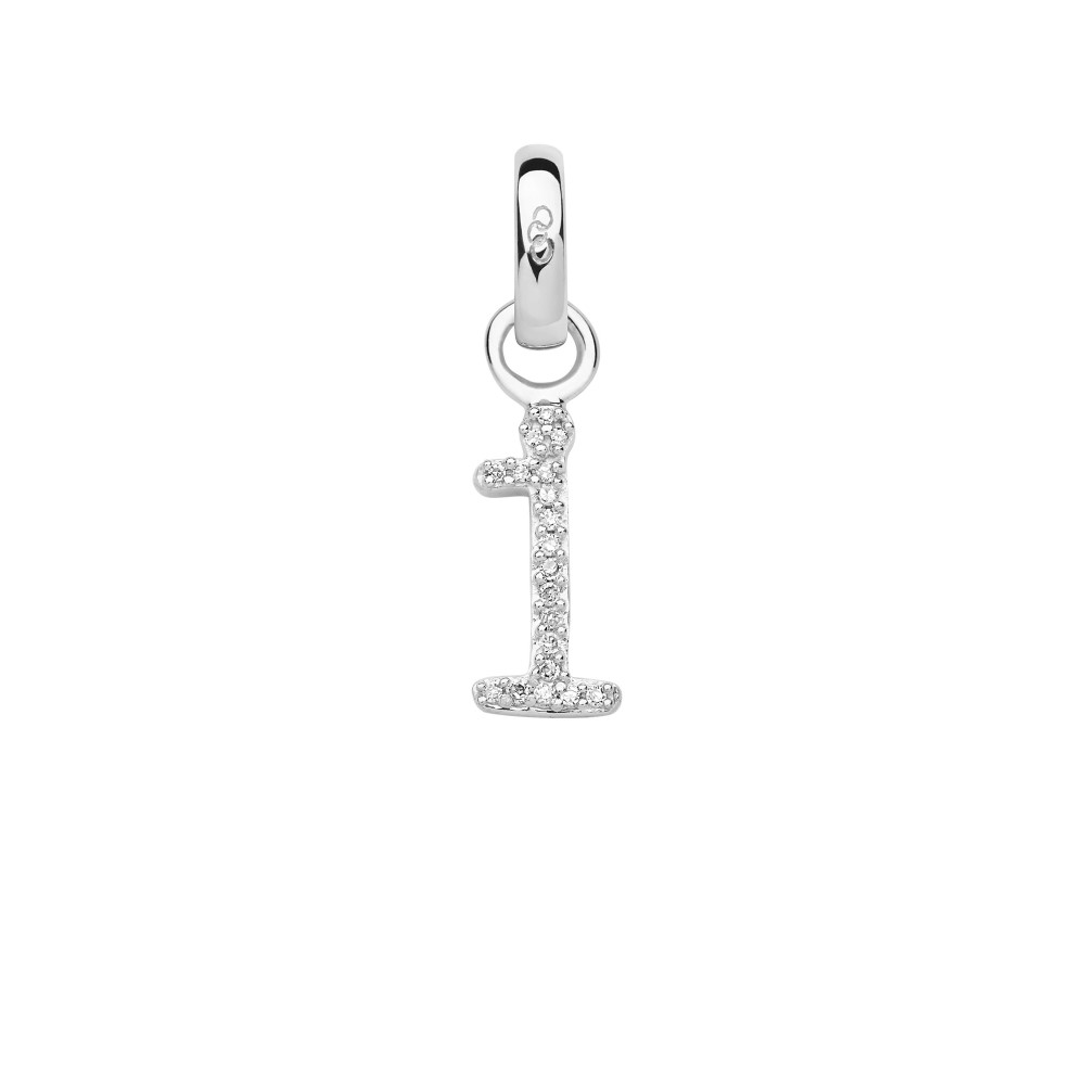 リンクス オブ ロンドン レディース ジュエリー・アクセサリー【Sterling Silver & Diamond I Alphabet Charm】silver