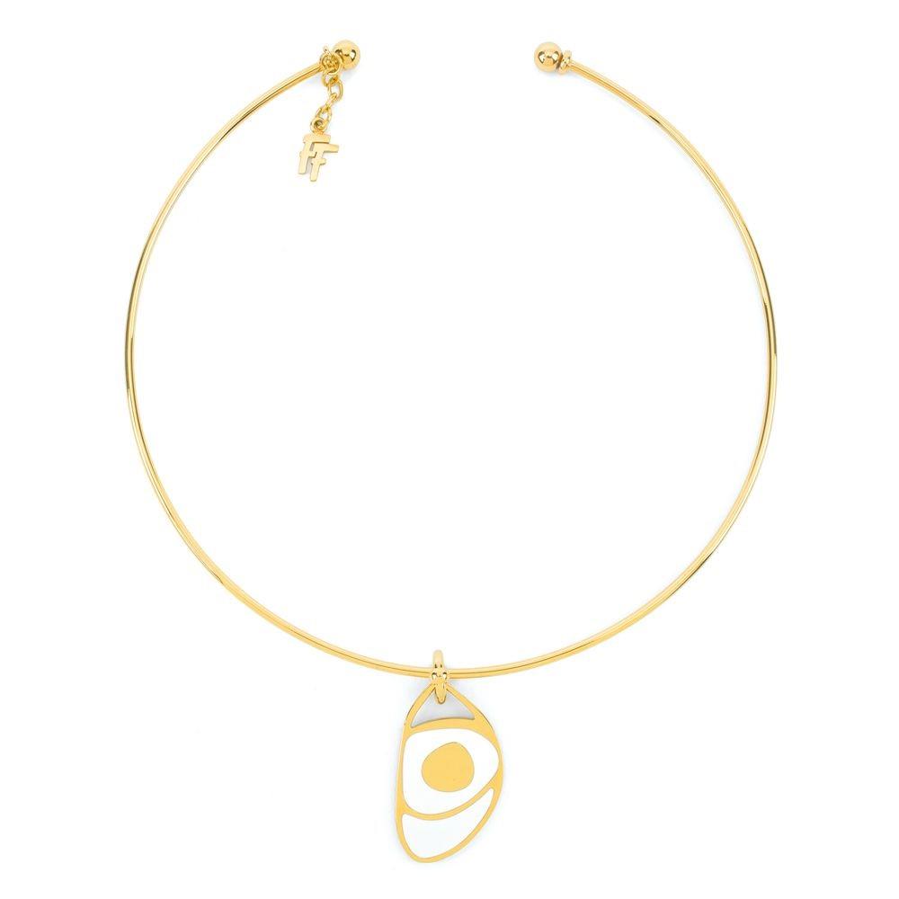 フォリフォリ レディース ジュエリー・アクセサリー ネックレス【Talisman Gold Collar Necklace】gold