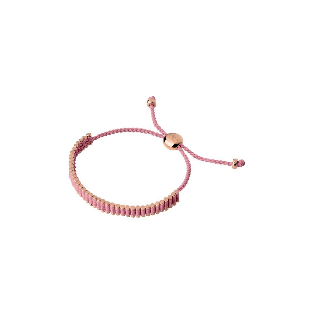 リンクス オブ ロンドン レディース ジュエリー・アクセサリー ブレスレット【18kt Rose Gold Vermeil & Pink Mini Friendship Bra】rose gold