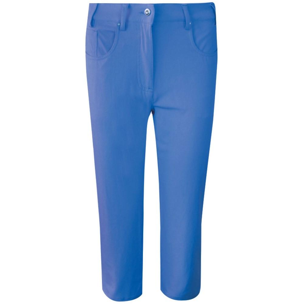 グレンミューラー レディース ゴルフ ボトムス・パンツ【Kendra Capri】blue