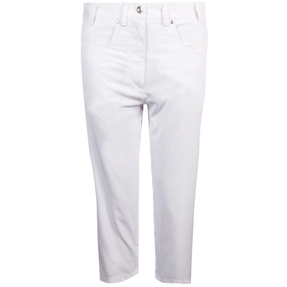 グレンミューラー レディース ゴルフ ボトムス・パンツ【Kendra Capri】white