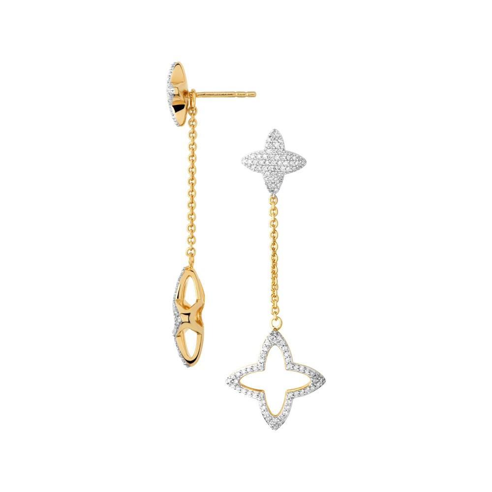 リンクス オブ ロンドン レディース ジュエリー・アクセサリー ブレスレット【Splendour 18kt Gold Vermeil & Diamond Star Long D】gold
