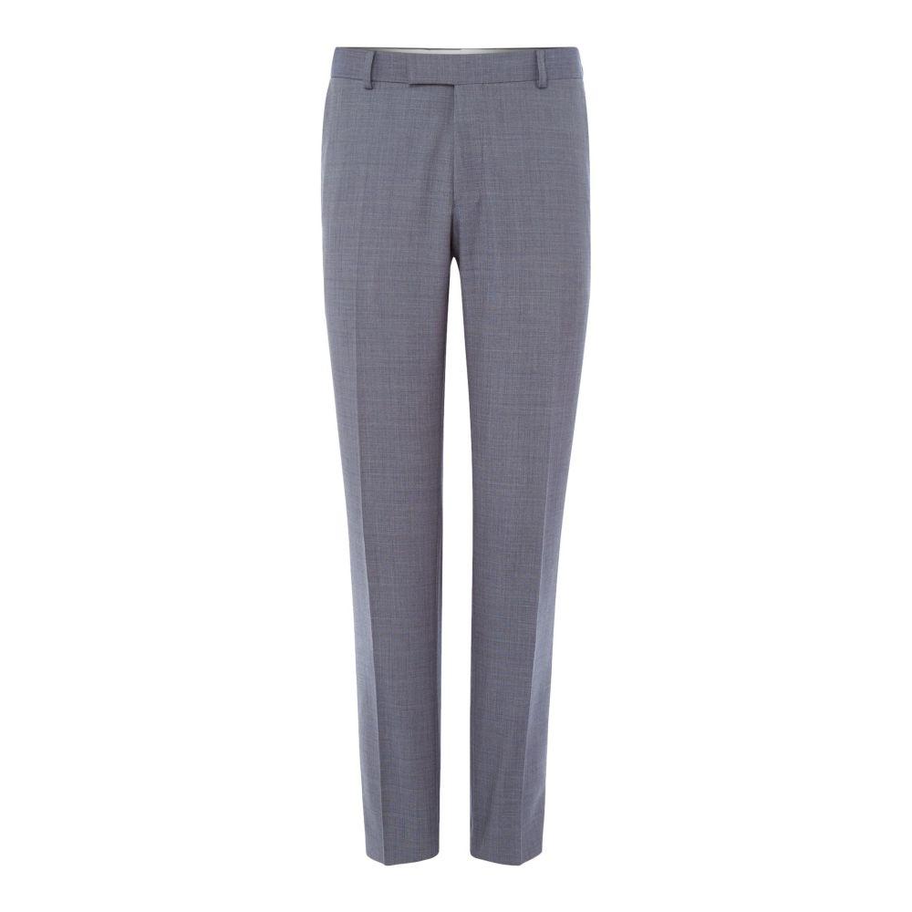 リチャード ジェームス メンズ ボトムス・パンツ スラックス【Sharkskin Slim Suit Trouser】slate