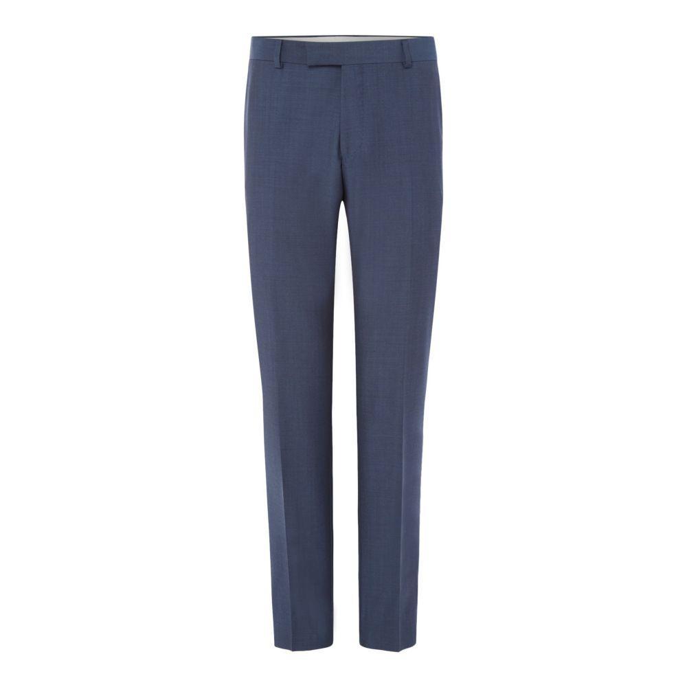 リチャード ジェームス メンズ ボトムス・パンツ スラックス【Mohair Tonic Slim Suit Trouser】steel