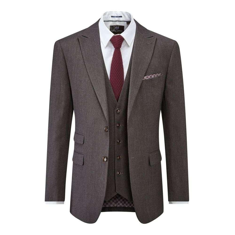 スコープス メンズ アウター スーツ・ジャケット【Winston Suit Jacket】charcoal