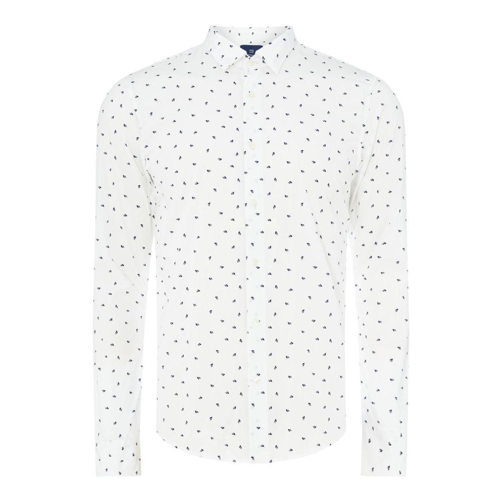 スコッチ&ソーダ メンズ トップス シャツ【Longsleeve Shirt】white