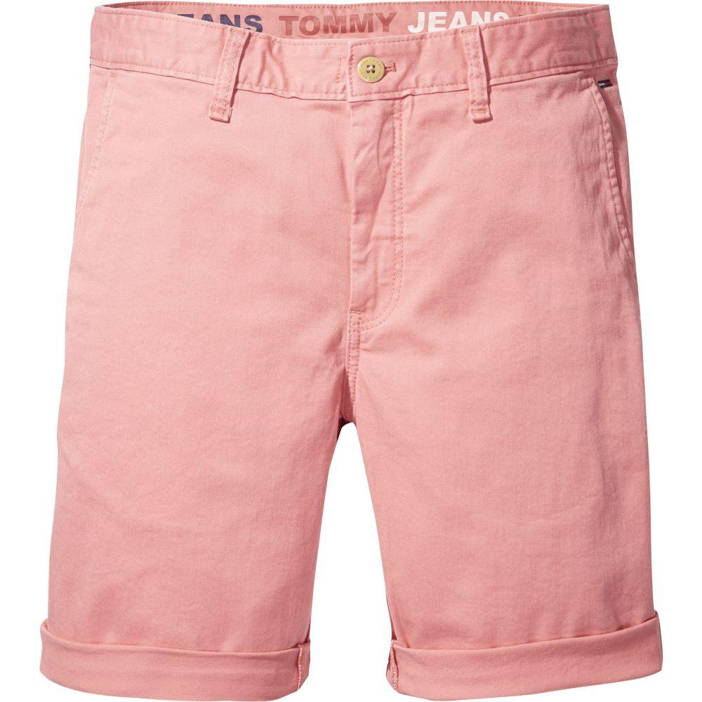 トミー ヒルフィガー メンズ ボトムス・パンツ ショートパンツ【Tommy Jeans Straight Leg Chino Shorts】salmon