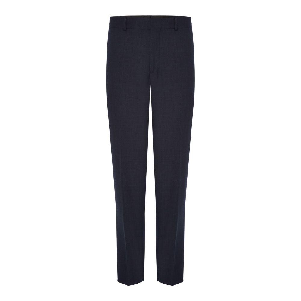 サイモン カーター メンズ ボトムス・パンツ スラックス【Mini Geo Texture Suit Trousers】navy