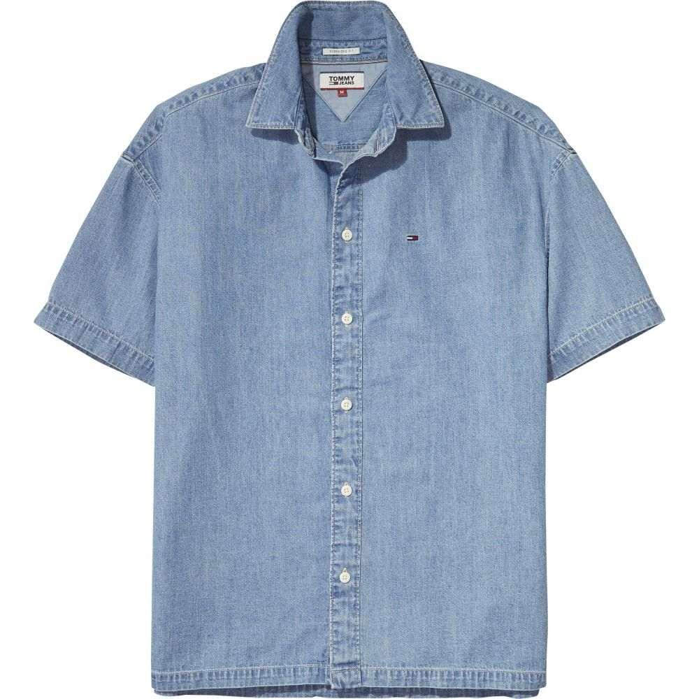 トミー ヒルフィガー メンズ トップス シャツ【Tommy Jeans Summer Denim Shirt】blue
