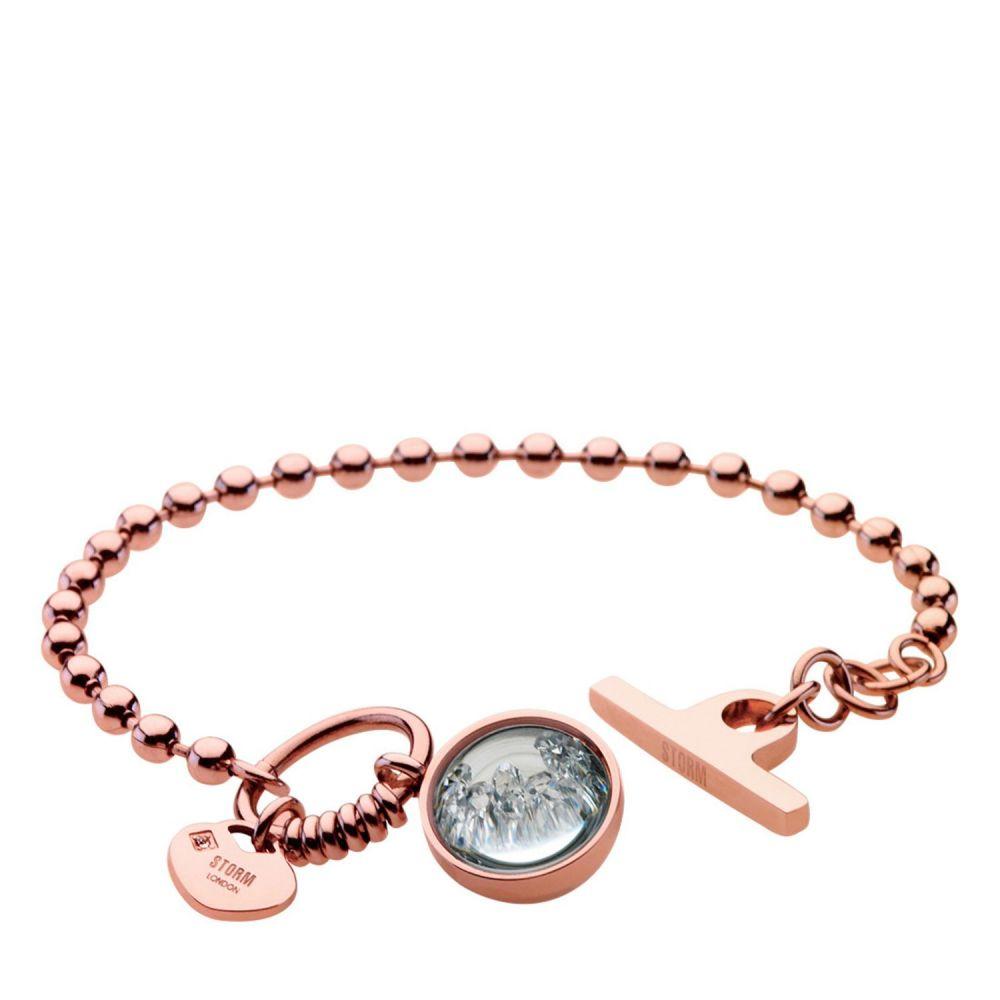 ストーム レディース ジュエリー・アクセサリー ブレスレット【Crysta Ball Bracelet】rose gold