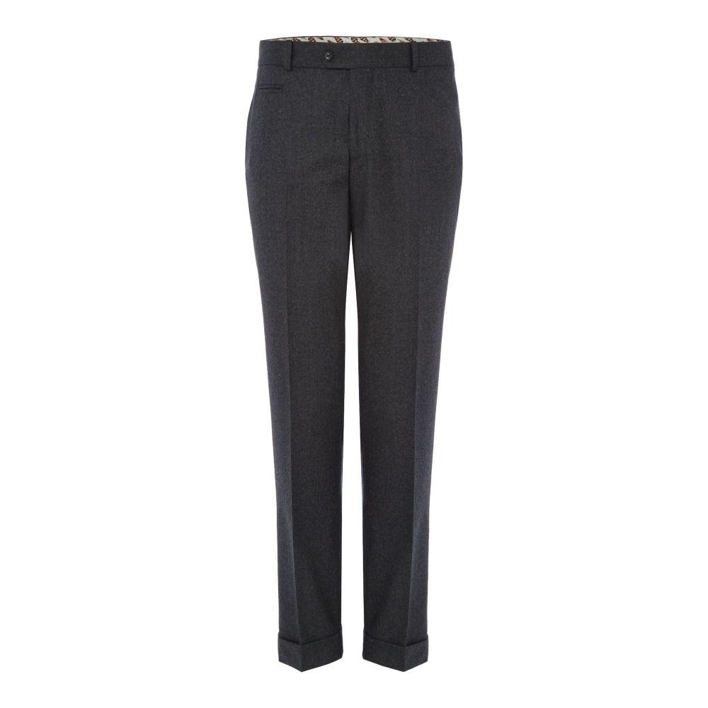 サイモン カーター メンズ ボトムス・パンツ スラックス【Flannel Wool Trouser】grey