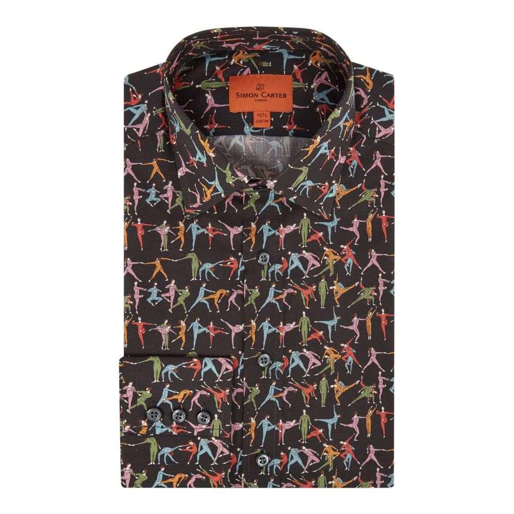 サイモン カーター メンズ トップス シャツ【Exclusive Liberty Tiny Dancer Shirt】multi-coloured