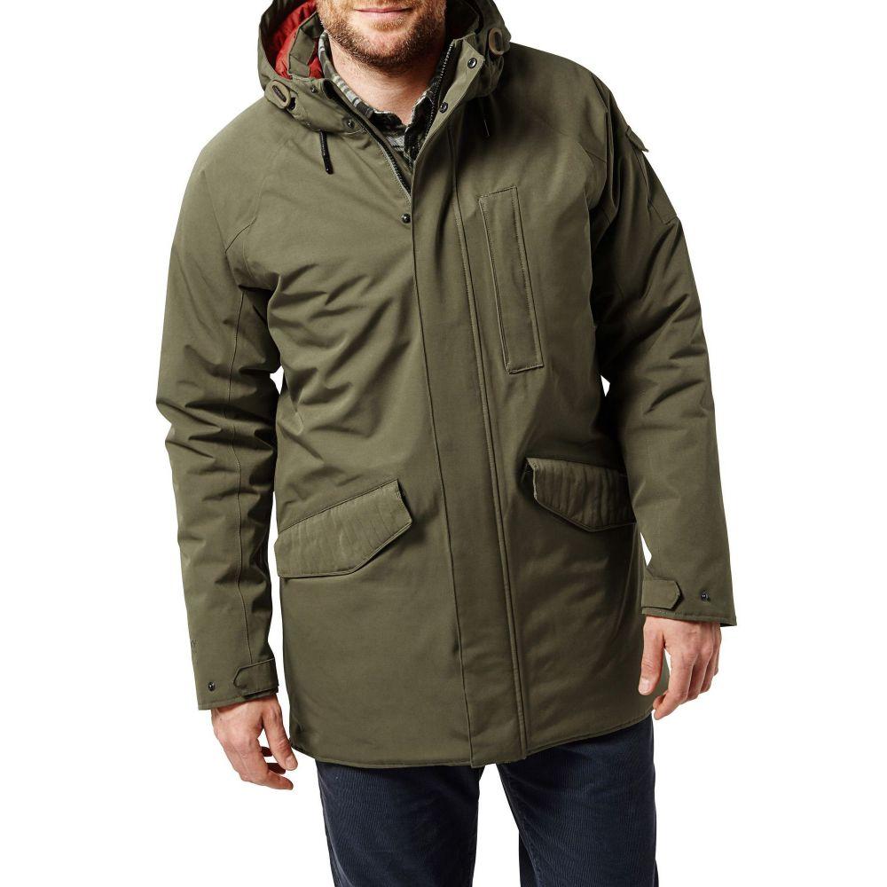 クラッグホッパーズ メンズ アウター ジャケット【250 Waterproof Insulating Jacket】dark green