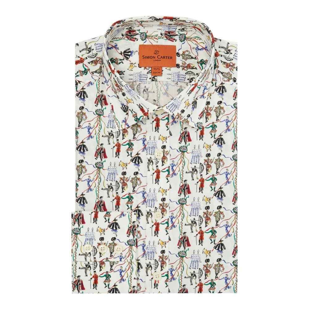 サイモン カーター メンズ トップス シャツ【Exclusive Liberty Fete Print Shirt】multi-coloured