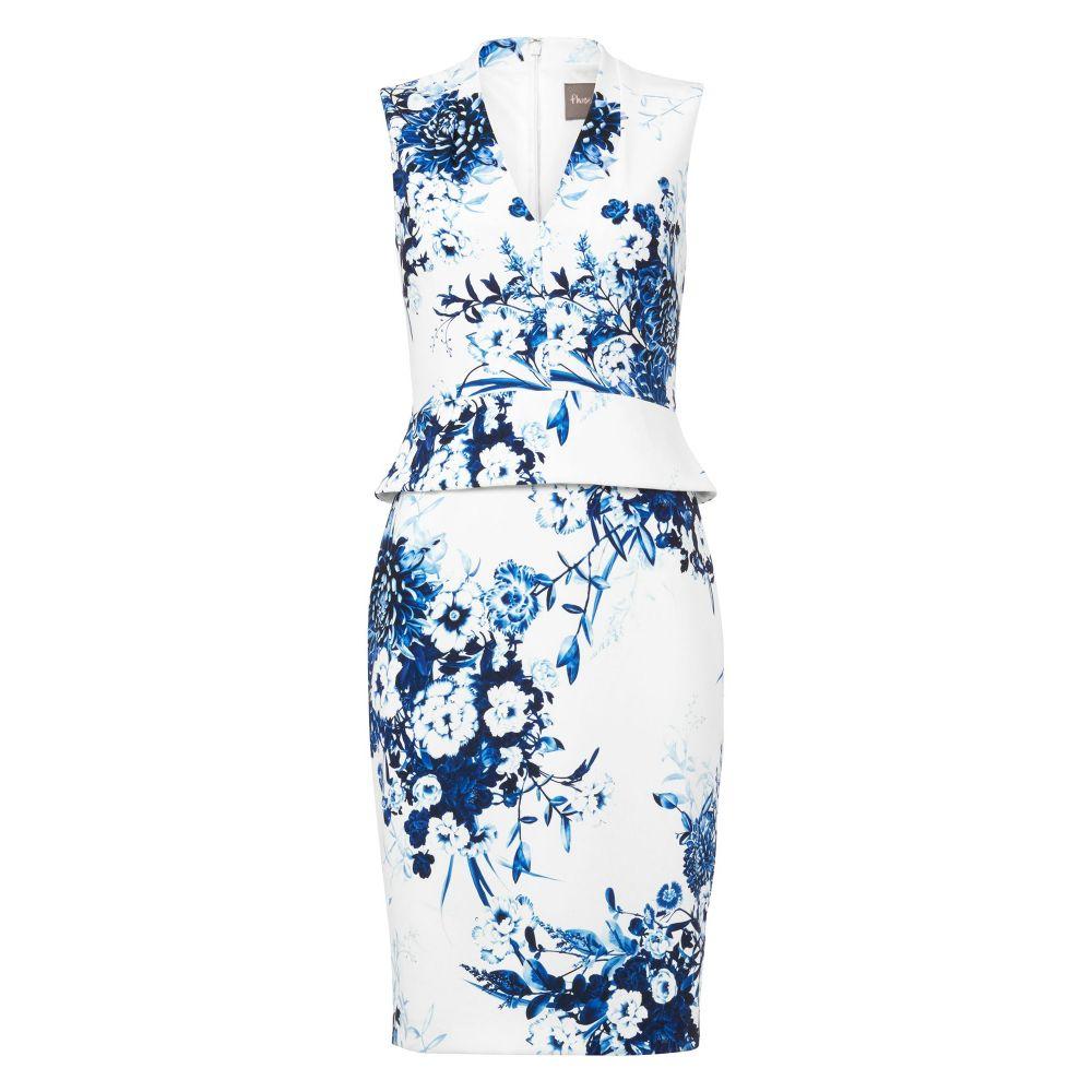 フェーズ エイト レディース ワンピース・ドレス ワンピース【Chinoisserie Print Dress】white