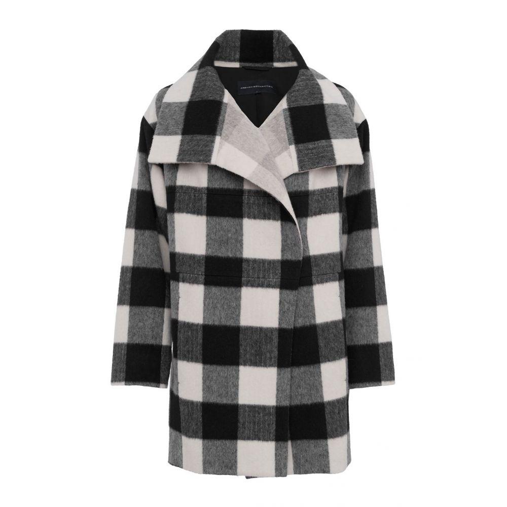 フレンチコネクション レディース Coat】black レディース アウター コート【Jackie Checked Coat Checked】black, CROSS:88ab3677 --- itxassou.fr