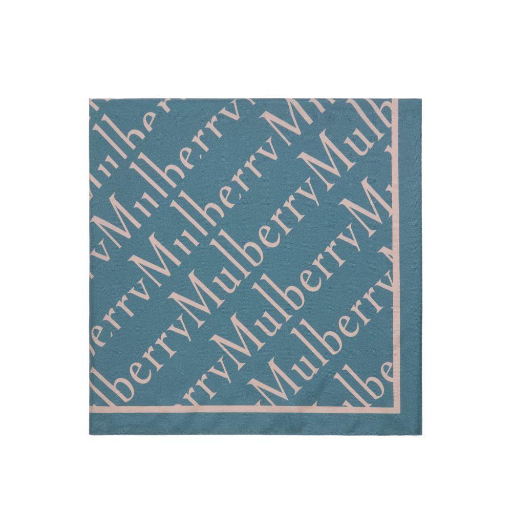 マルベリー レディース マフラー・スカーフ・ストール【Mulberry Degrade Square Scarf】blue