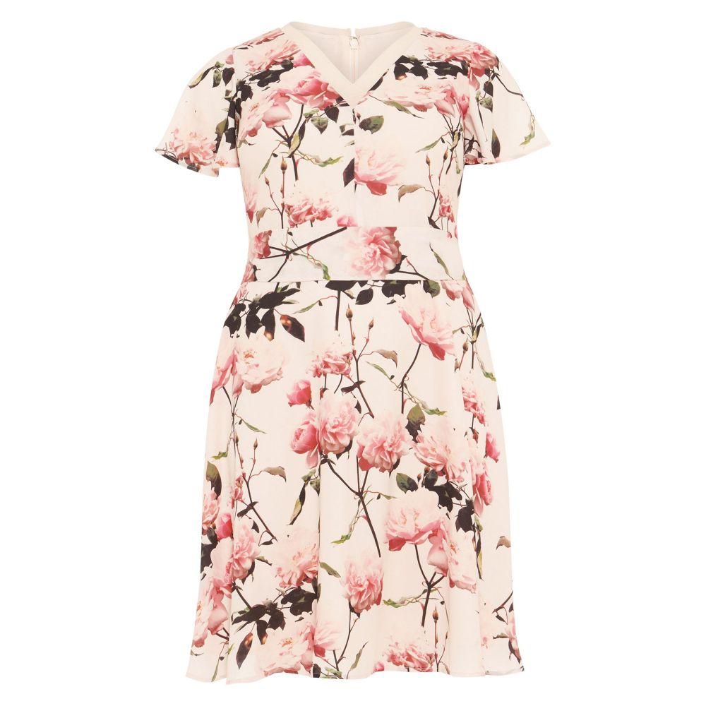 スタジオ8 レディース ワンピース・ドレス パーティードレス【Calista Floral Dress】pink