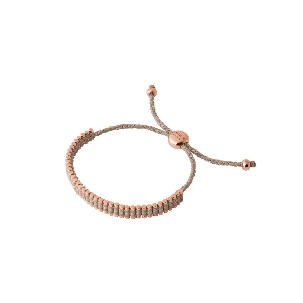 リンクス オブ ロンドン レディース ジュエリー・アクセサリー ブレスレット【Mini Taupe Friendship Bracelet】