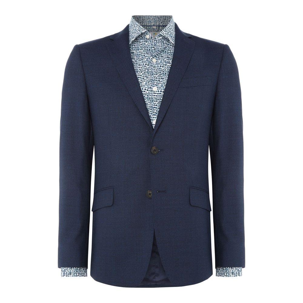 リチャード ジェームス メンズ アウター スーツ・ジャケット【Puppytooth Oliver Suit Jacket】aqua