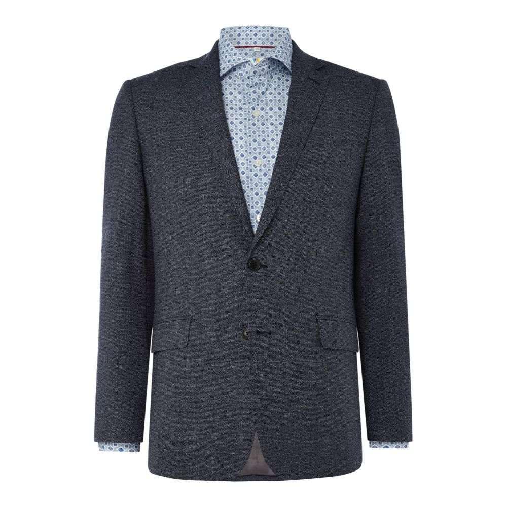 リチャード ジェームス メンズ アウター スーツ・ジャケット【Contrast Speckle Oliver Suit Jacket】blue