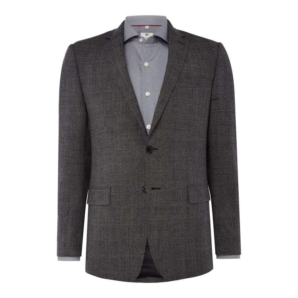 リチャード ジェームス メンズ アウター スーツ・ジャケット【Twisted Check Frederick Suit Jacket】mid grey