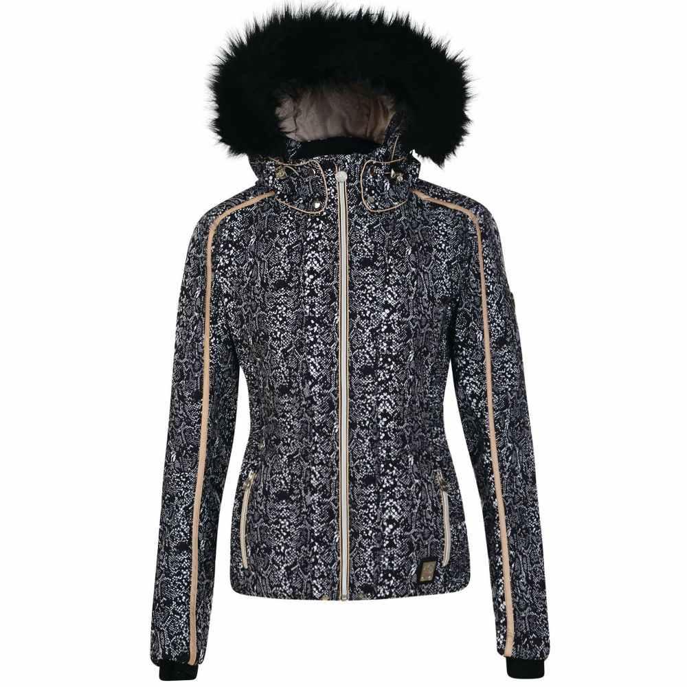 デア トゥビー レディース スキー・スノーボード アウター【Convolute Ski Jacket】black