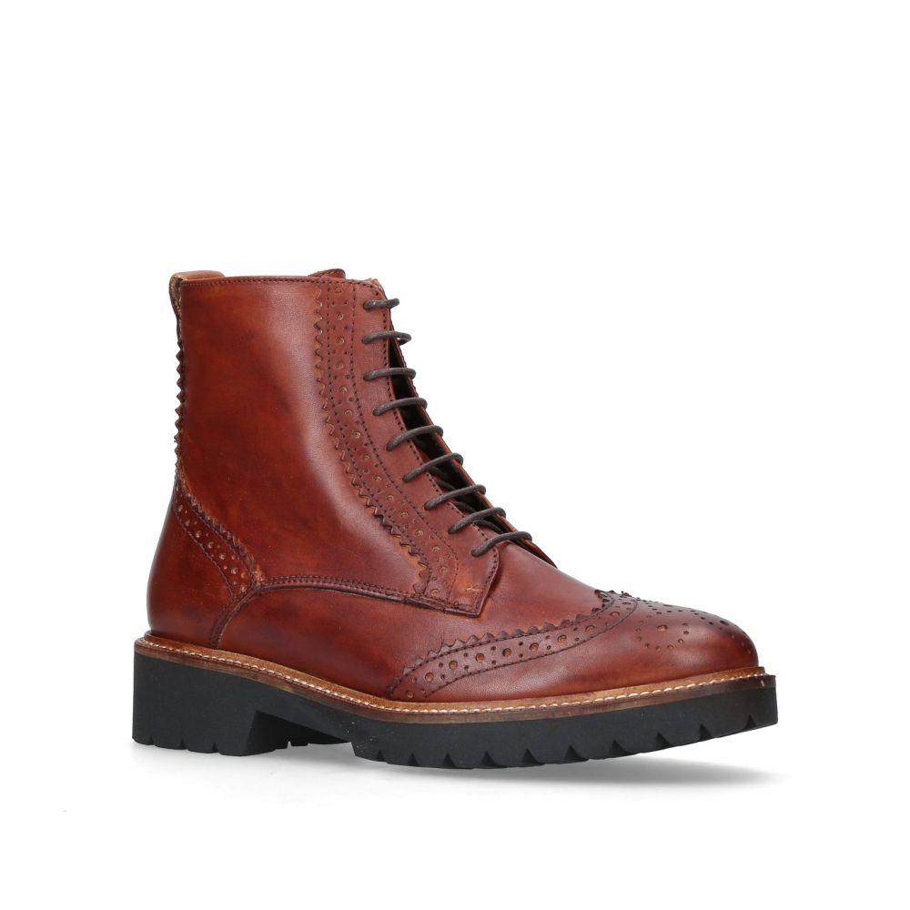 カーベラ レディース シューズ・靴 ブーツ【Snail Ankle Boots】tan