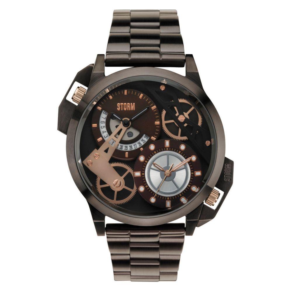 ストーム メンズ 腕時計【Dualon Watch】brown