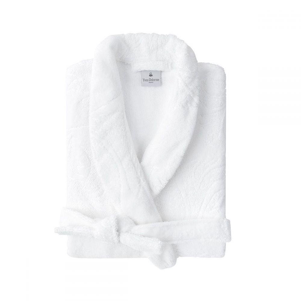 イヴ ドローム レディース インナー・下着 ガウン・バスローブ【Nymphe Bath Robe】white