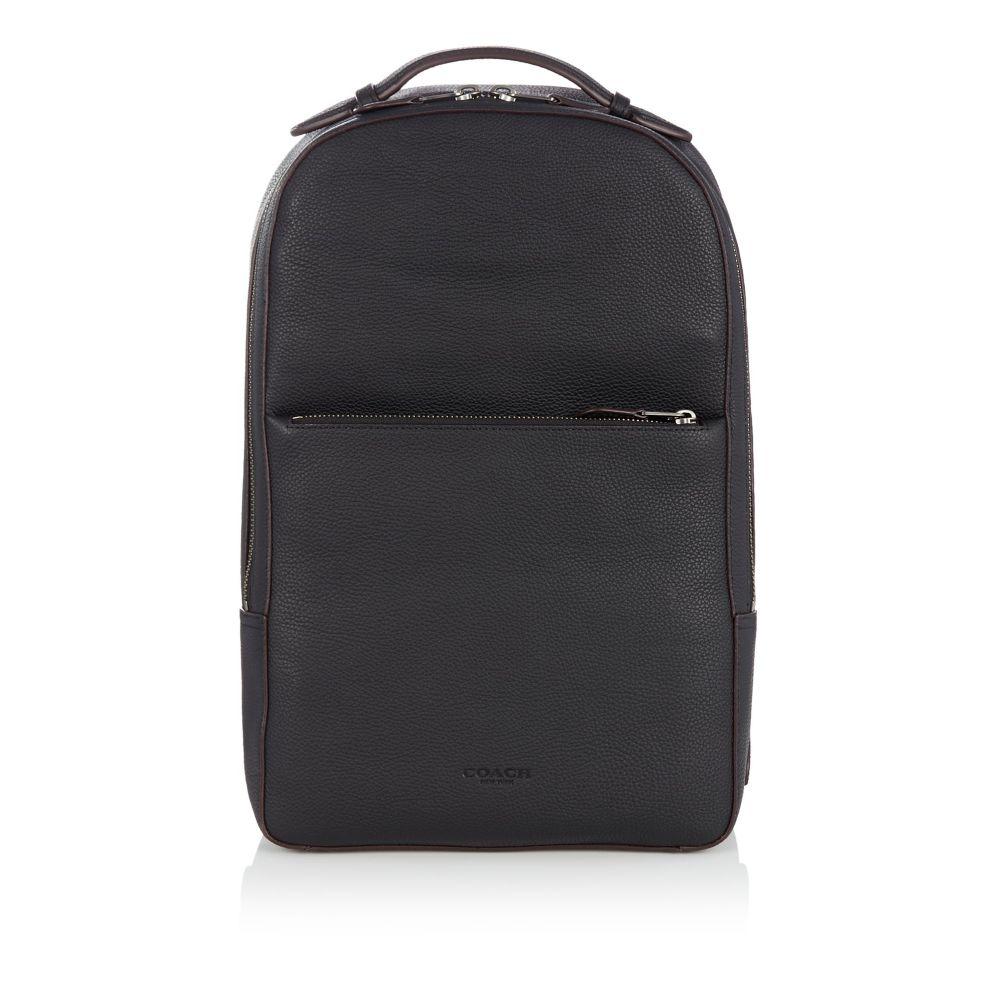 コーチ メンズ バッグ バックパック・リュック【Metropolitan Soft Pebble Leather Backpack】black