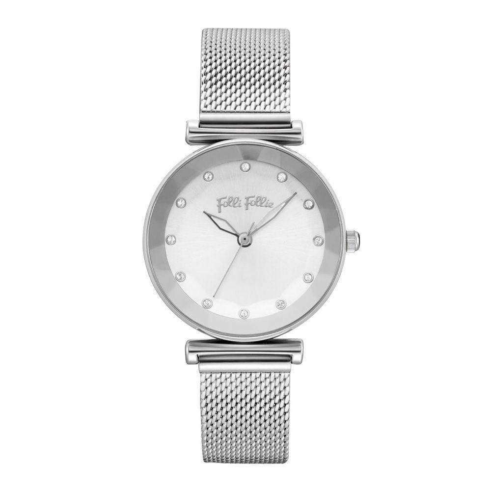 フォリフォリ レディース 腕時計【Star Flower Watch】silver