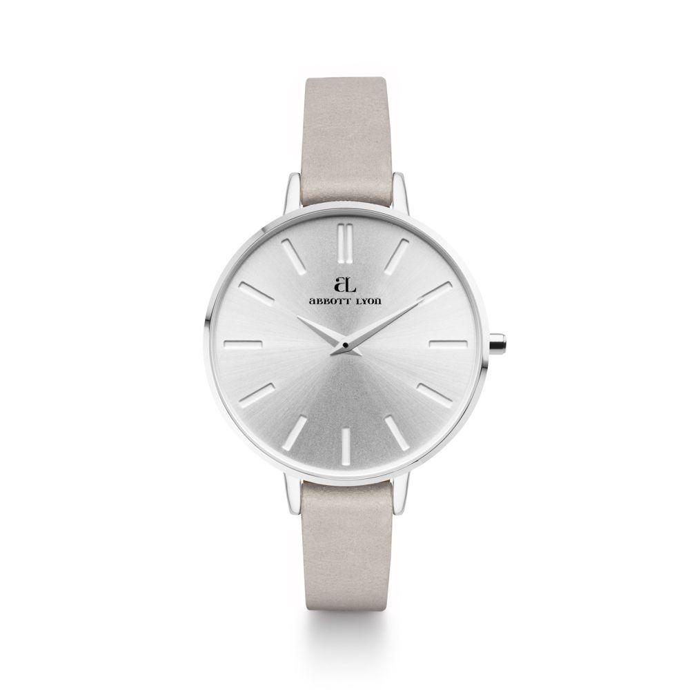 アボットリオン レディース 腕時計【Grey Leather Minimale 38 Silver Watch】multi-coloured