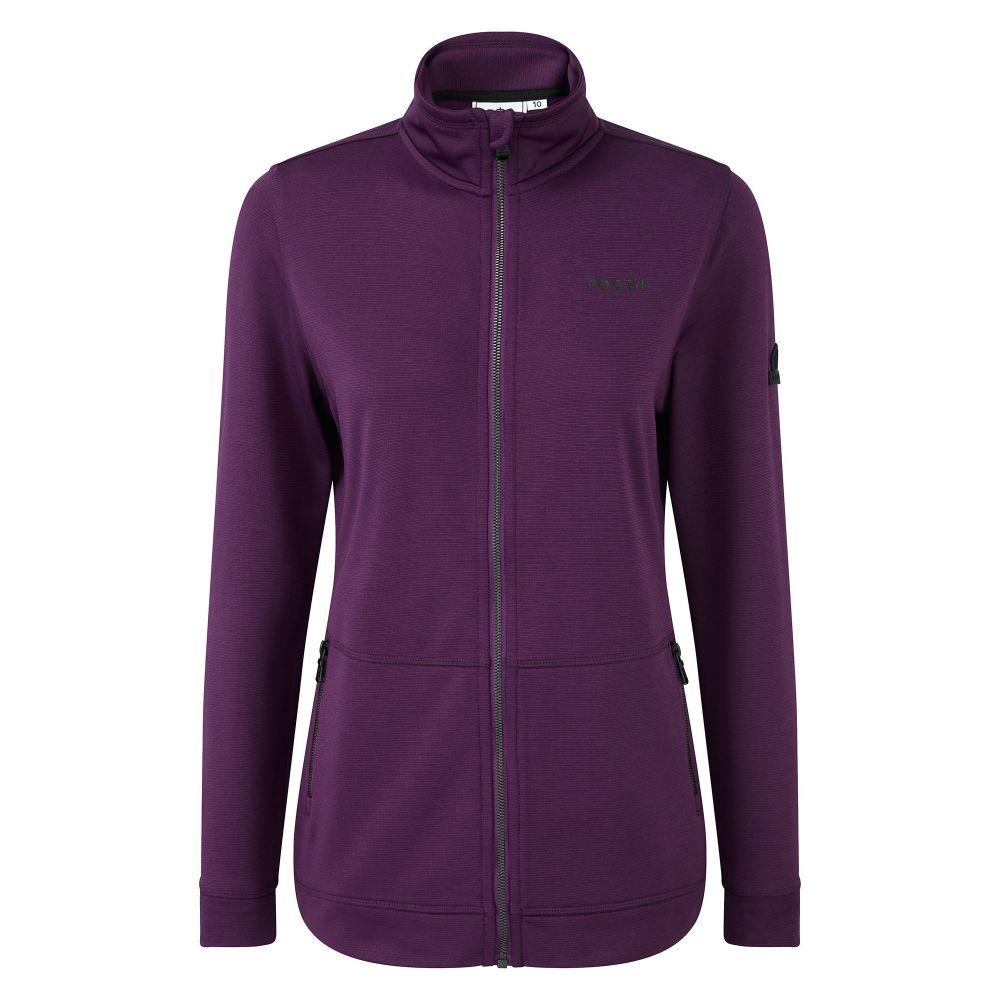 トッグ24 レディース トップス フリース【Lottie Tcz Str Jacket】dark purple
