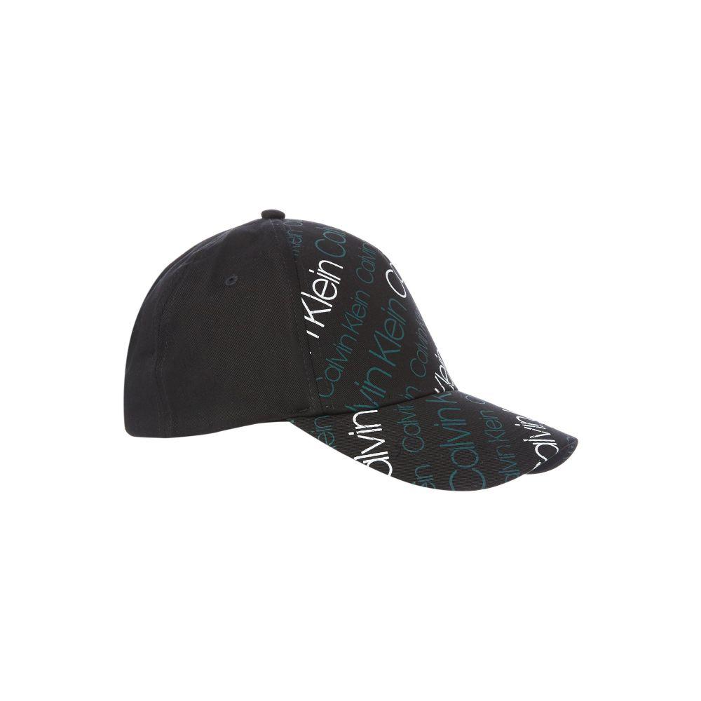 カルバンクライン メンズ 帽子 キャップ【Aop Logo Cap】black