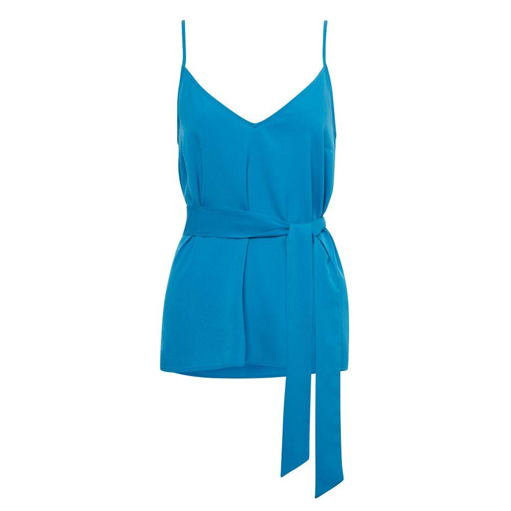 フレンチコネクション レディース インナー・下着 スリップ・キャミソール【Dalma Crepe Light Strappy Cami】blue