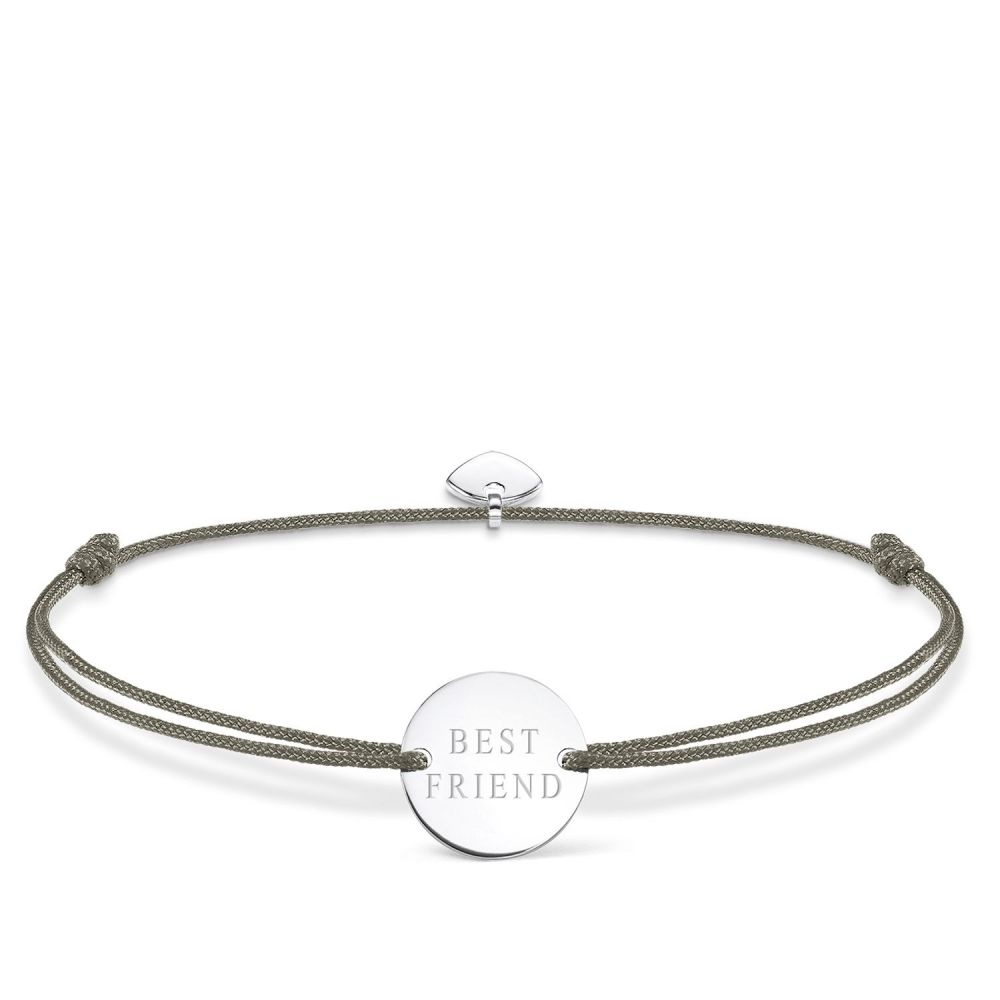 トーマスサボ レディース ジュエリー・アクセサリー ブレスレット【Little Secrets Best Friend Bracelet】grey