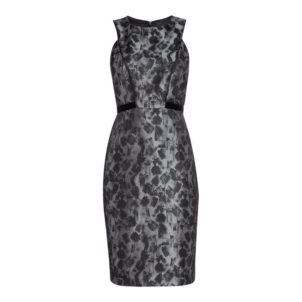 アリエラ レディース ワンピース・ドレス ボディコンドレス【Brush Stroke Bodycon Dress】grey
