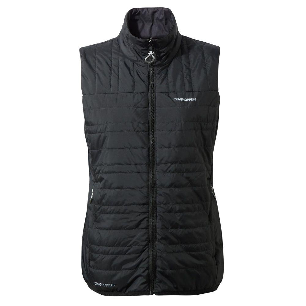 クラッグホッパーズ レディース トップス ベスト・ジレ【Compresslite Water-resistant Vest】black