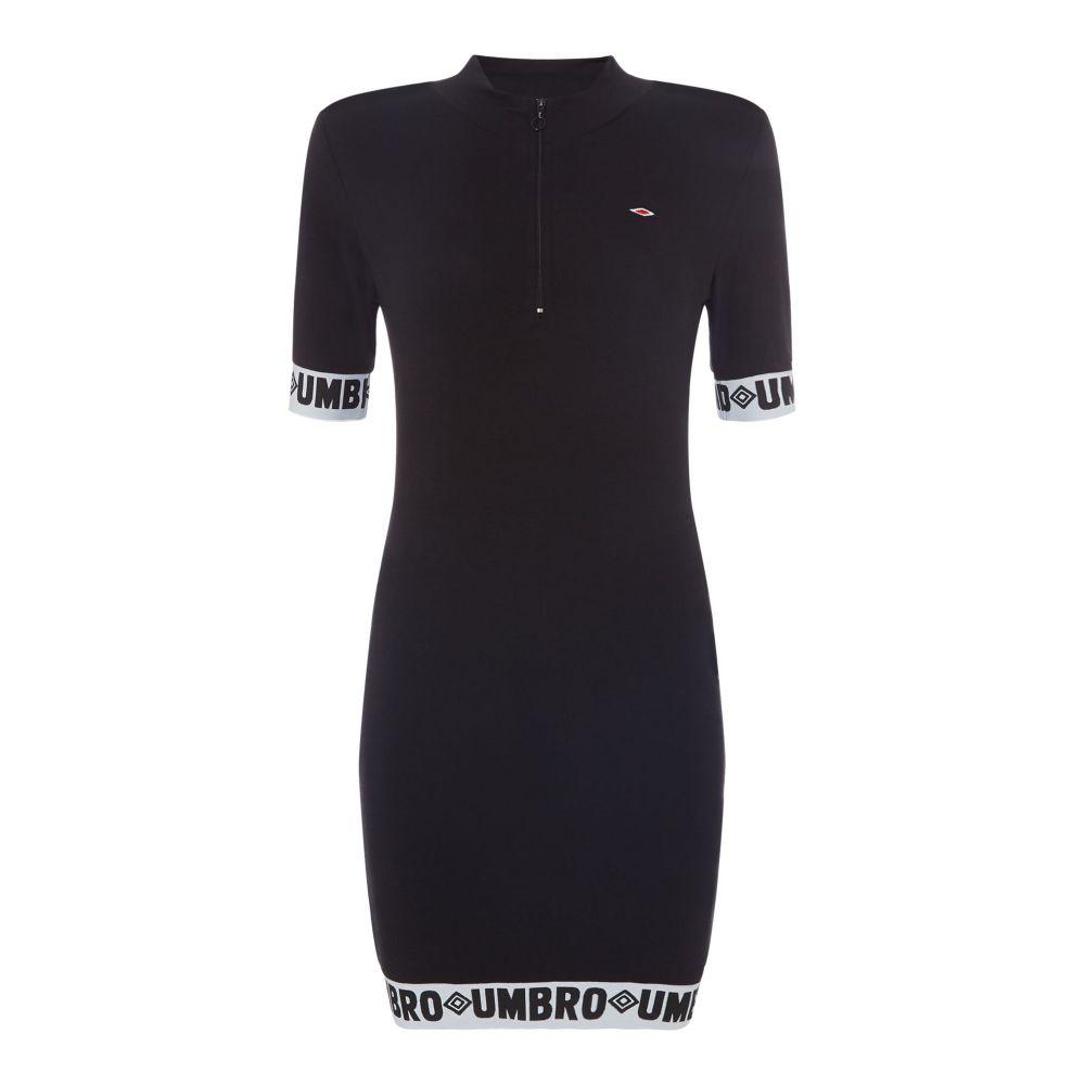 100%本物保証! アンブロ レディース フィットネス Neck・トレーニング トップス【Zip Front Dress Funnel Funnel Neck Dress With Logo Tape Trim】black, 久井高原のスモークチキン小屋:b91b72ee --- themarqueeindrumlish.ie
