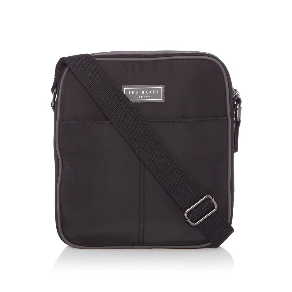 テッドベーカー メンズ バッグ メッセンジャーバッグ【Bg Holiday Nylon Crossbody Bag】black
