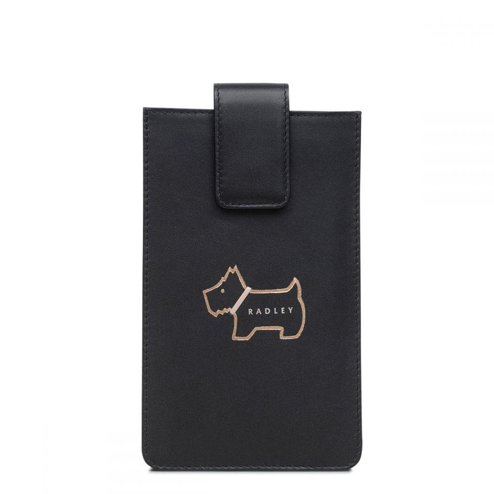 ラドリー レディース スマホケース【Heritage Dog Outline Phone Case】black