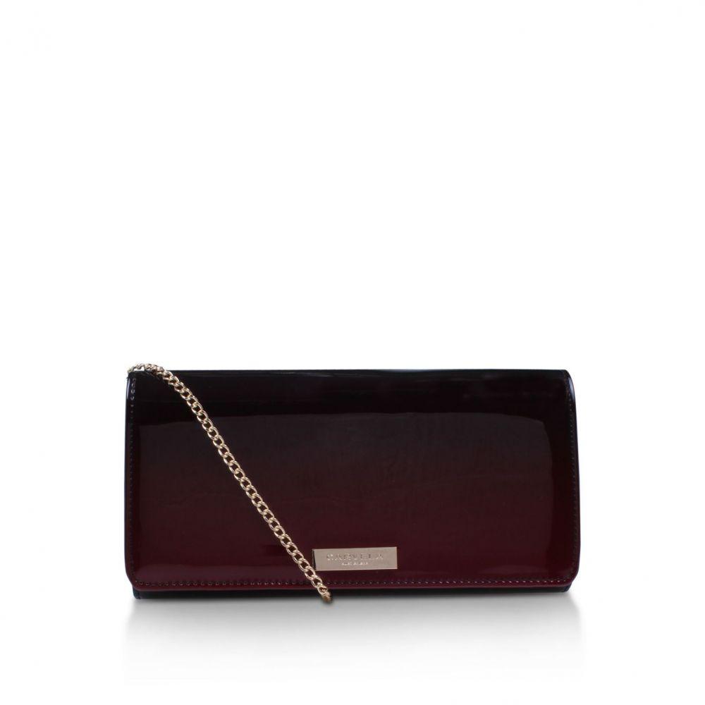 カーベラ レディース バッグ クラッチバッグ【Alice Clutch Bag】red
