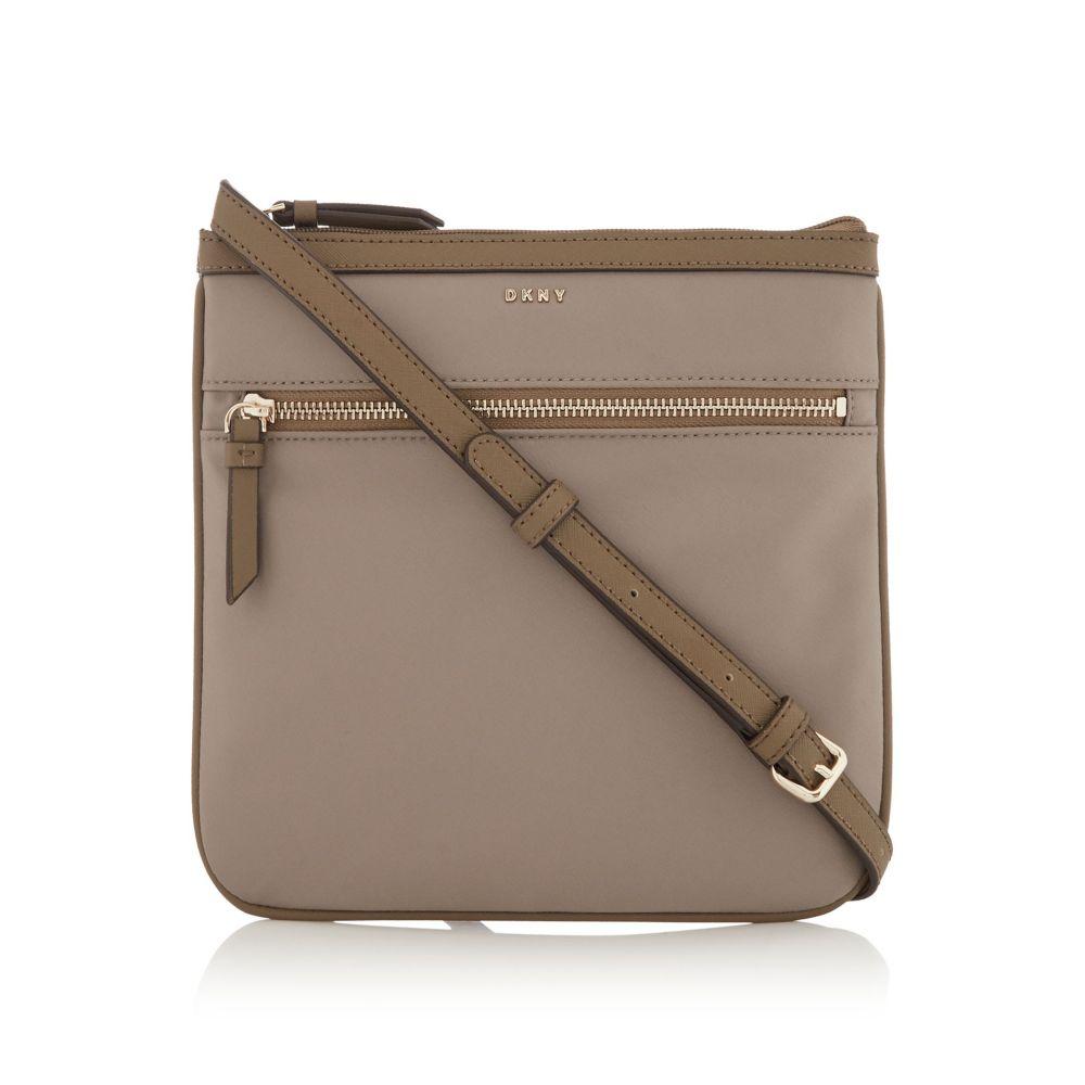 ダナ キャラン ニューヨーク レディース バッグ ショルダーバッグ【Casey Zip Pocket Cross Body Bag】neutral