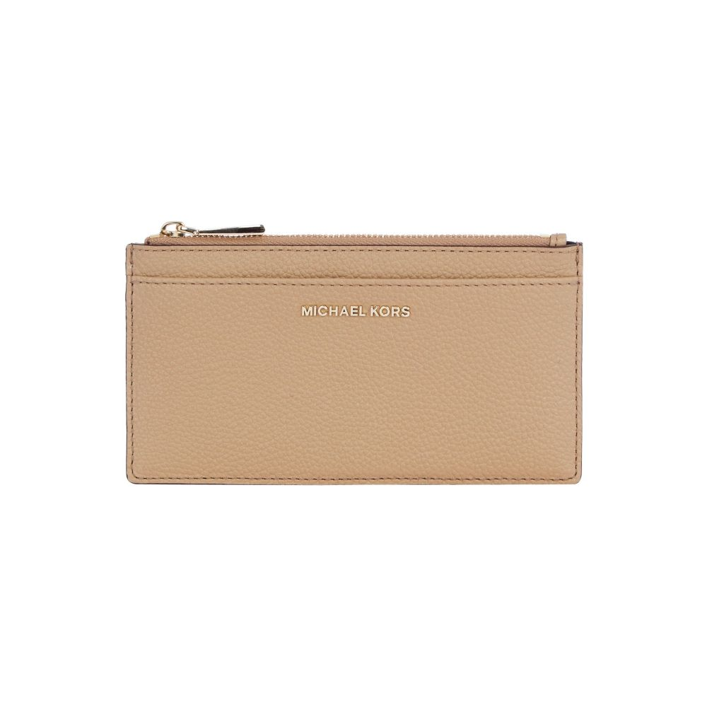 マイケル コース レディース カードケース・名刺入れ【Money Pieces Large Slim Card Case】dark brown