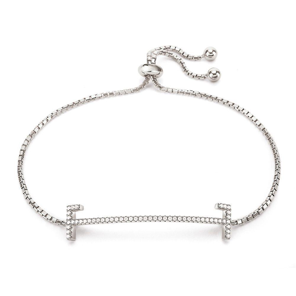 フォリフォリ レディース ジュエリー・アクセサリー ブレスレット【My Ff Toggle Bracelet】silver